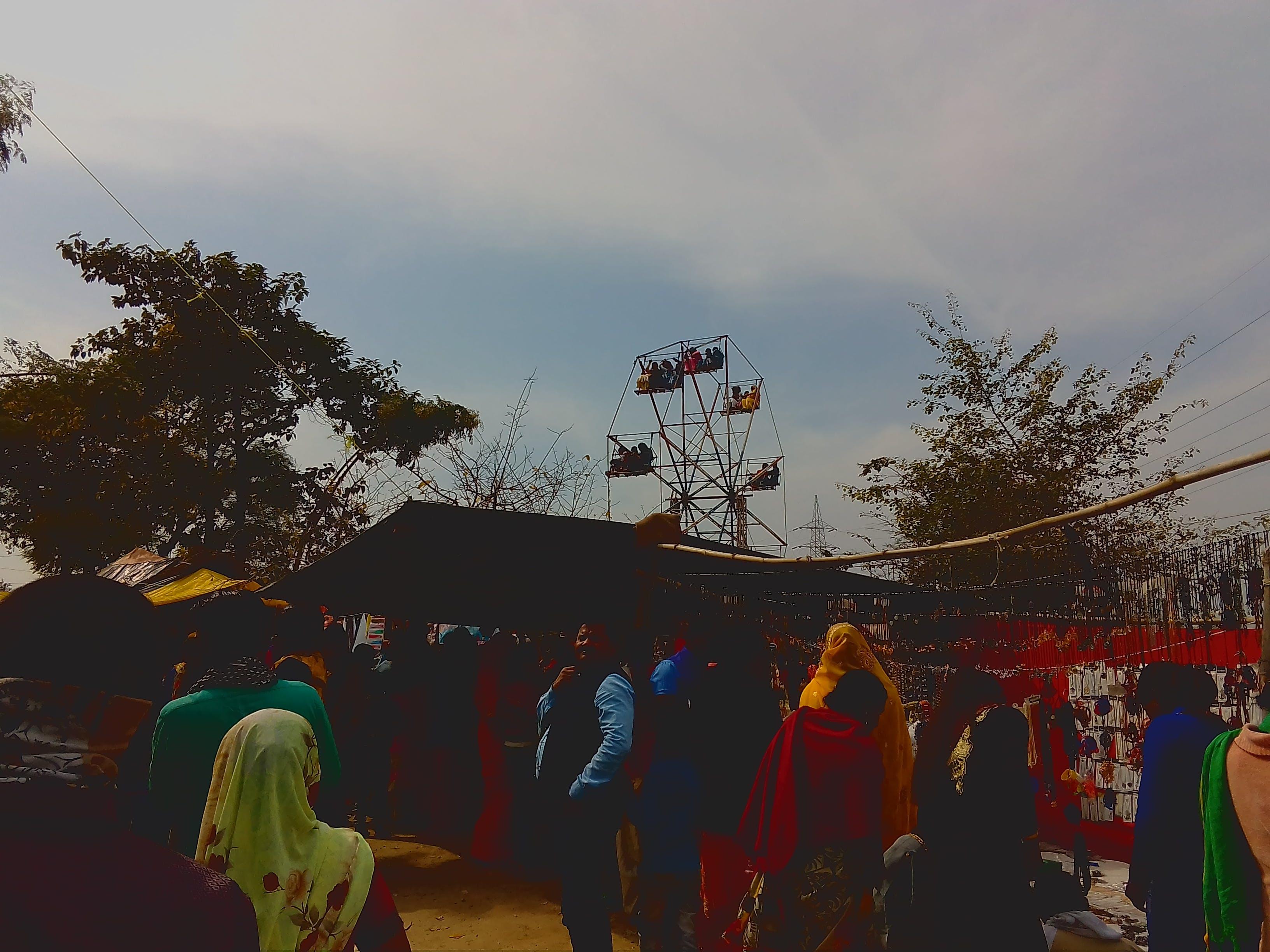 Gratis lagerfoto af 4k-baggrund, aften, blå himmel, Festival