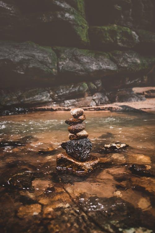 Základová fotografie zdarma na téma 4k tapeta, jas, kameny, krásný