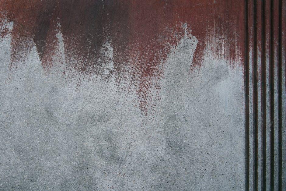 Wall half painted