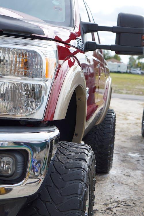Foto profissional grátis de amplo, caminhão, diesel, f350