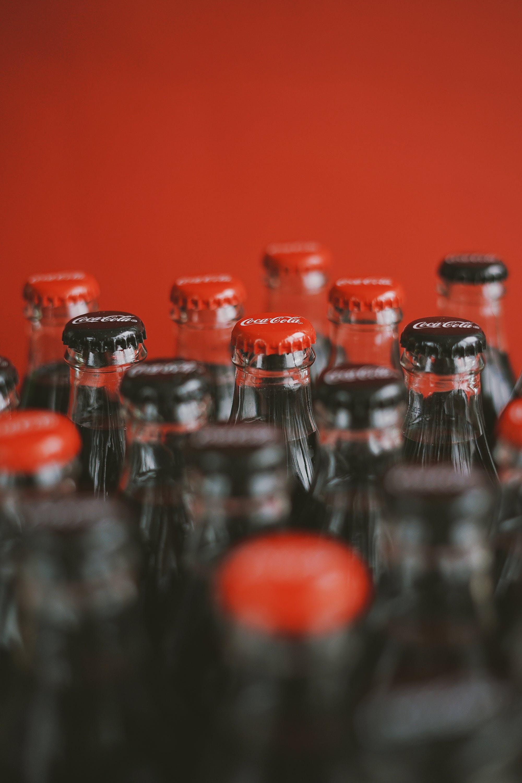 Closed Soda Bottles