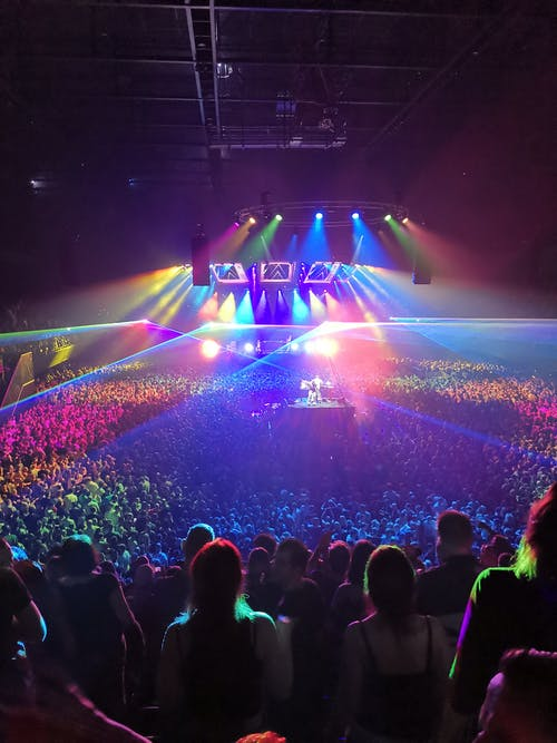 Fotos de stock gratuitas de fiesta, luces, música