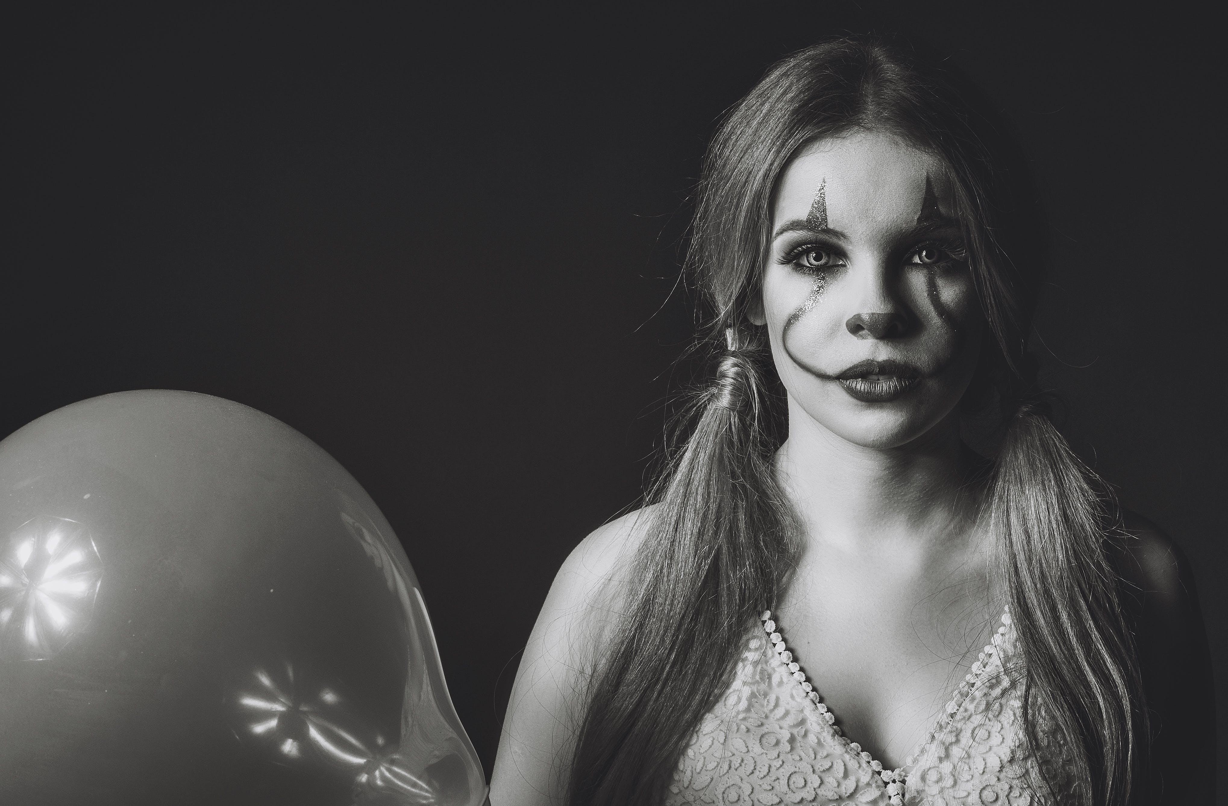 Free stock photo of b&w, fear, film, horror