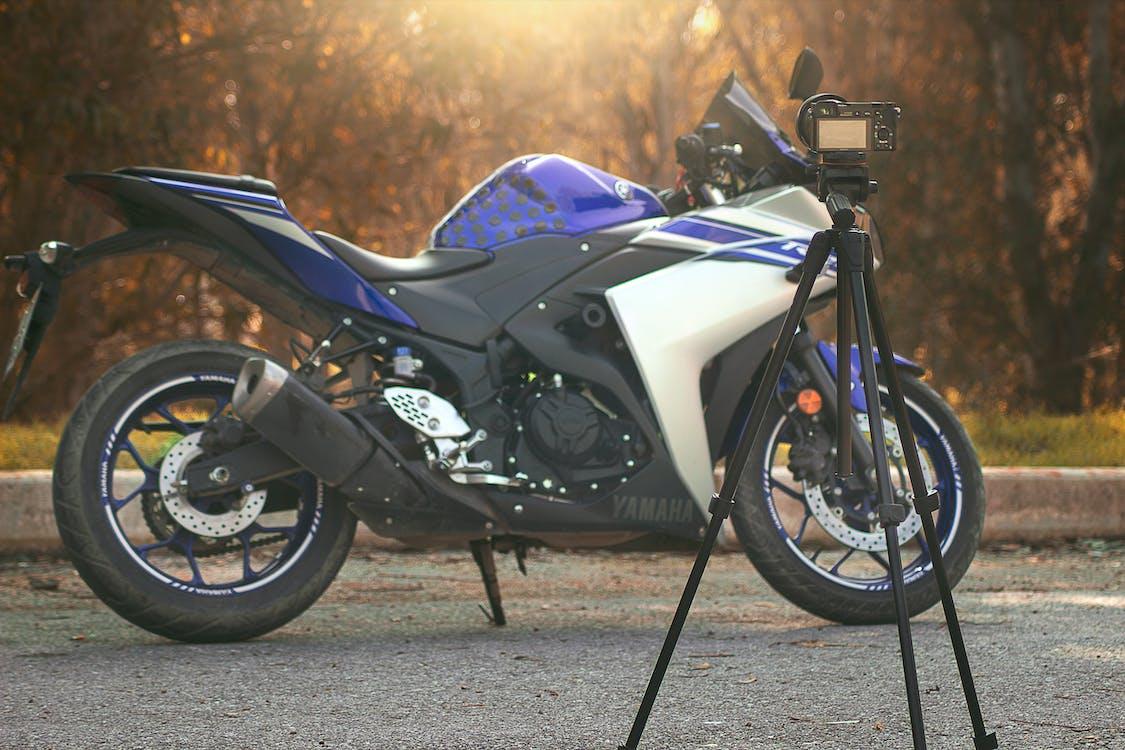 mavi, moto, motosiklet