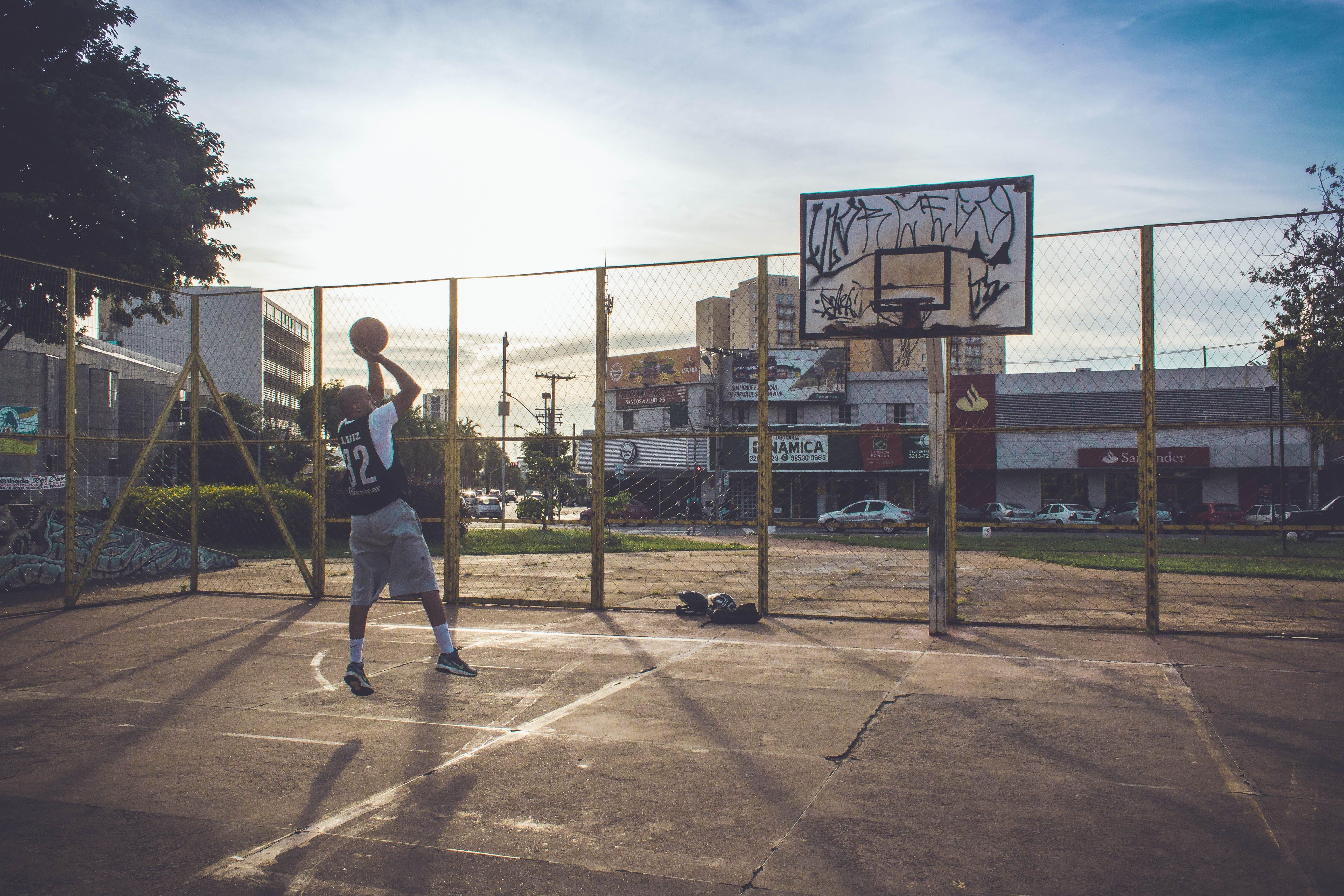 Ảnh lưu trữ miễn phí về áo lót, bắn, bóng rổ, các môn thể thao