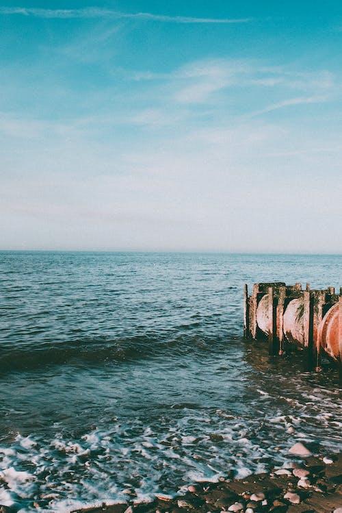 Fotobanka sbezplatnými fotkami na tému horizont, more, morský breh, oceán