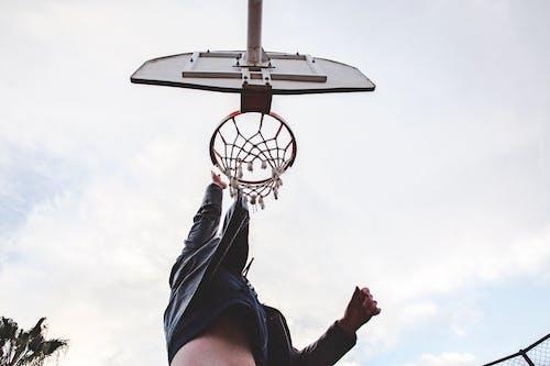 篮球圈, 籃球, 籃球場, 籃球網 的 免费素材照片