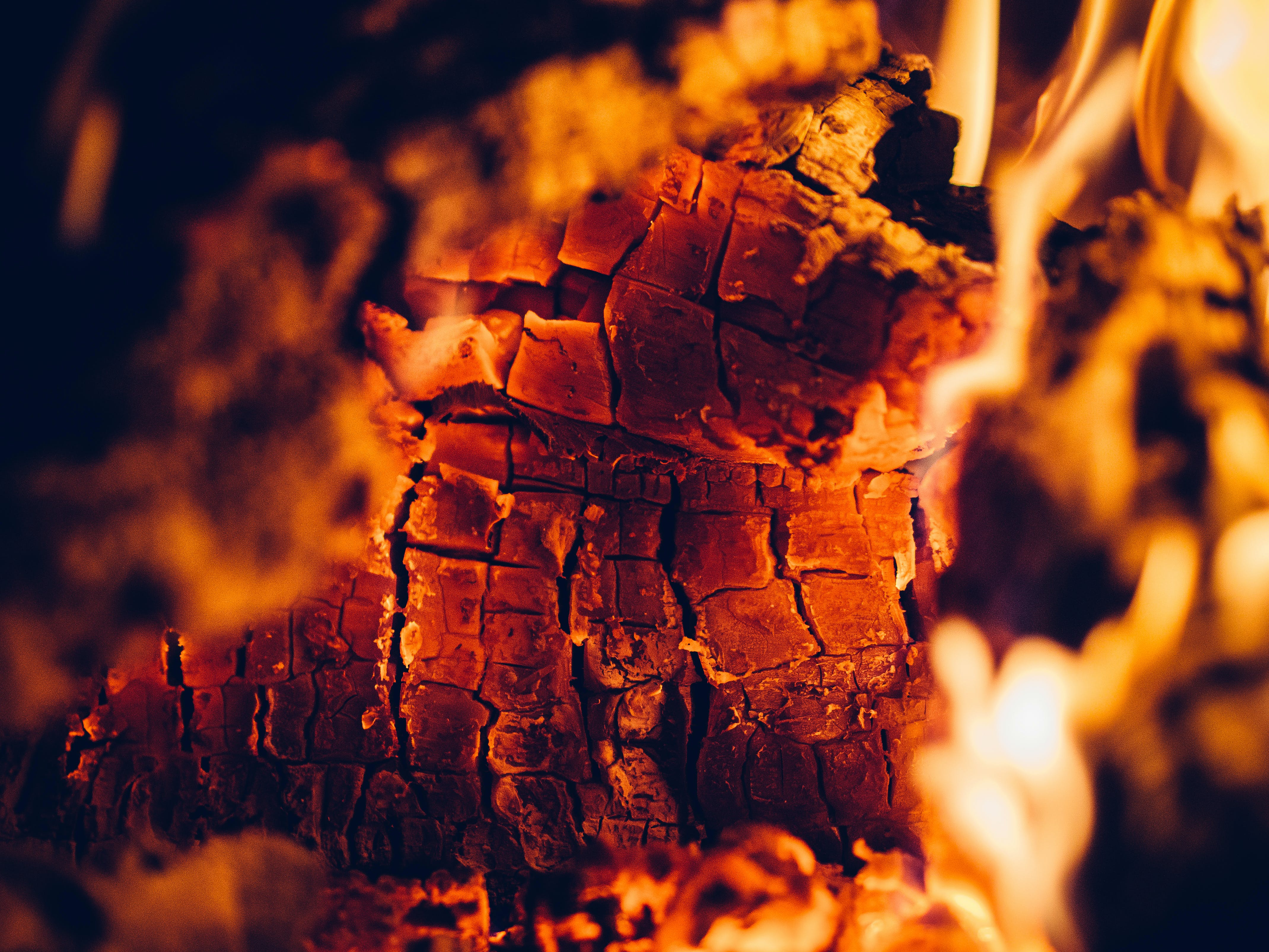 Free stock photo of fire, fireplace, ember, element