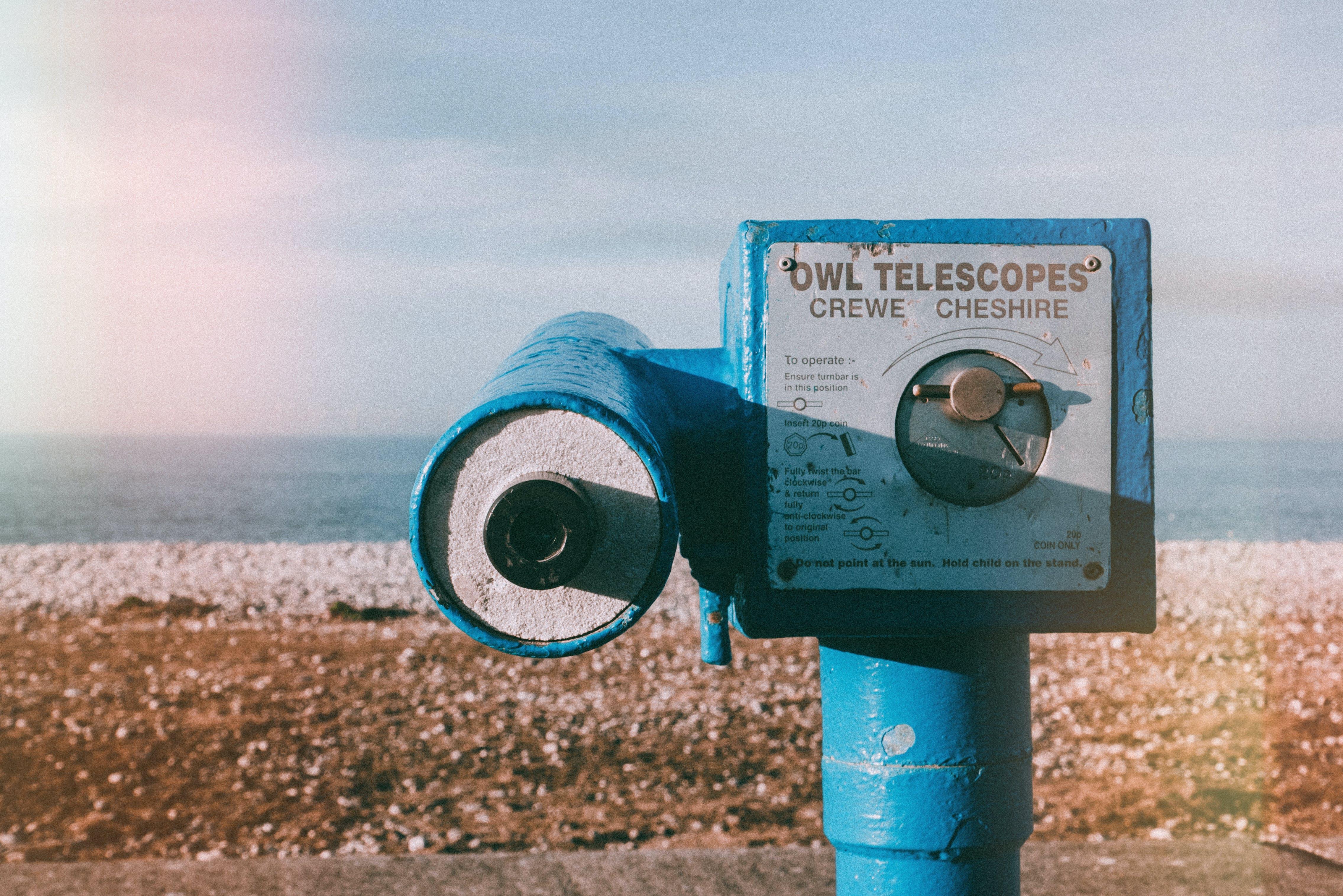 Selective Focus Photography of Blue Owl Telescopes
