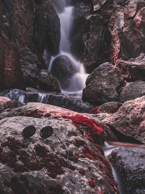 Foto stok gratis air, air terjun, aliran, aliran air