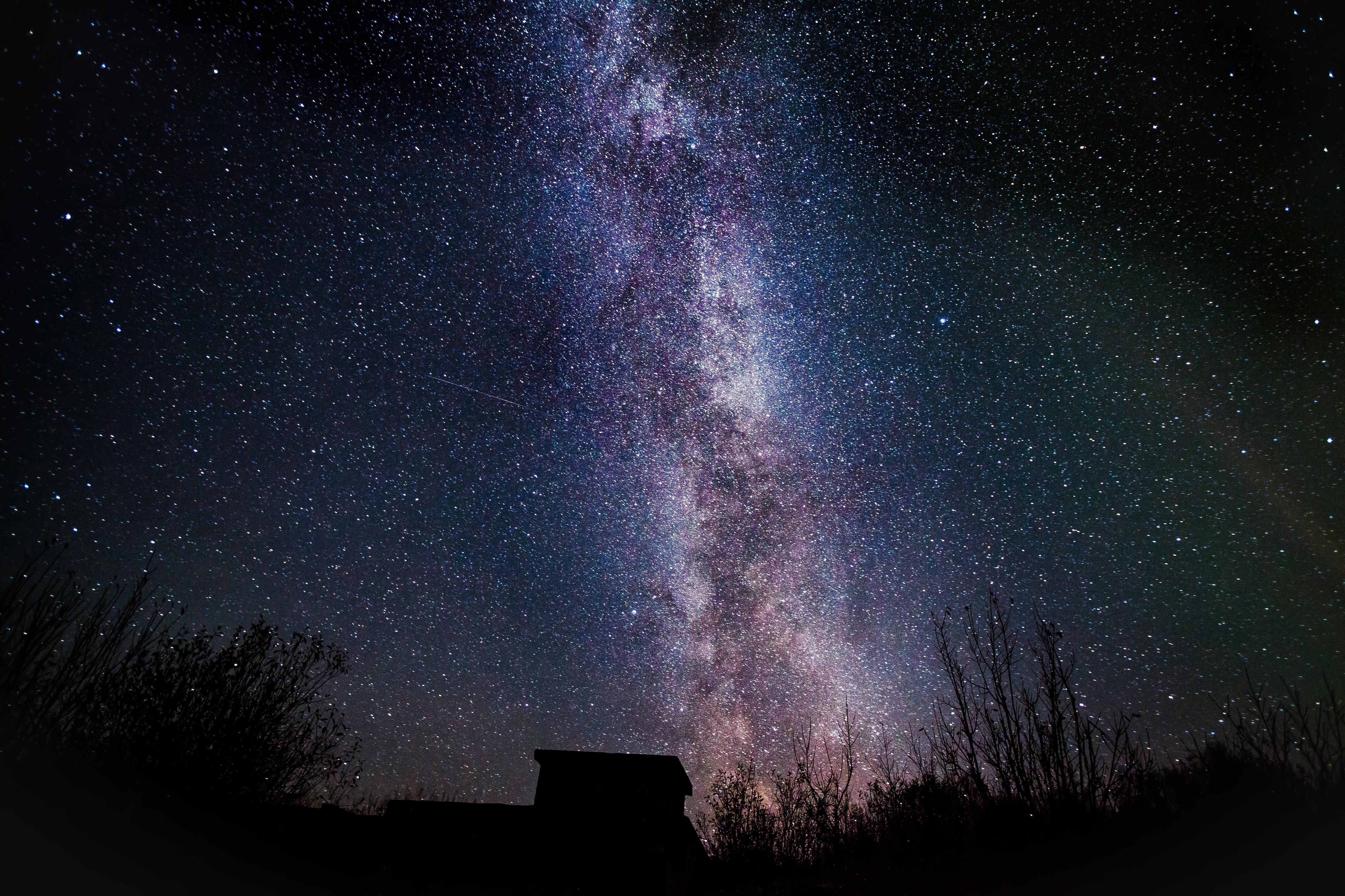 ... đầy sao, bầu trời đêm. Nhiếp ảnh gia