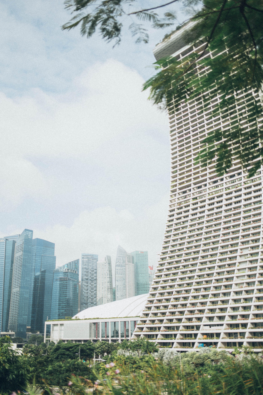 คลังภาพถ่ายฟรี ของ ตัวเมือง, มาริน่าเบย์แซนด์, สถาปัตยกรรม, สิงคโปร์