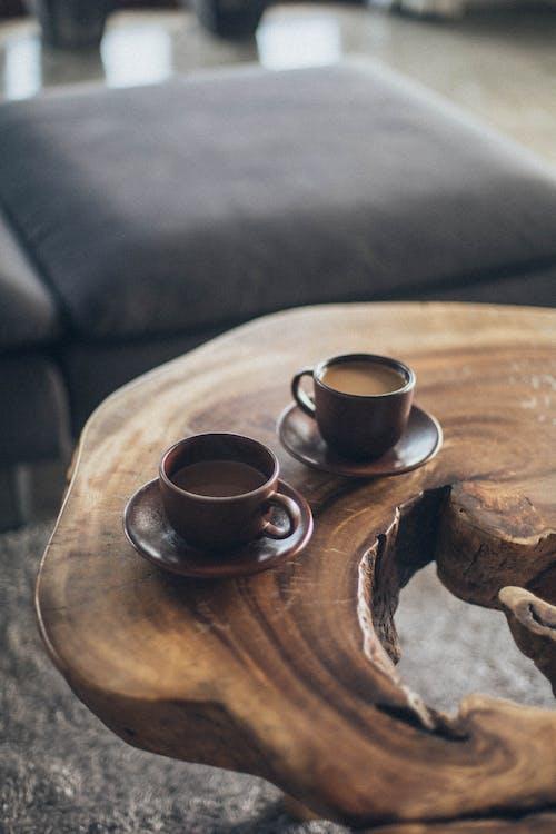 Photos gratuites de boissons, café, caféine, grandes tasses