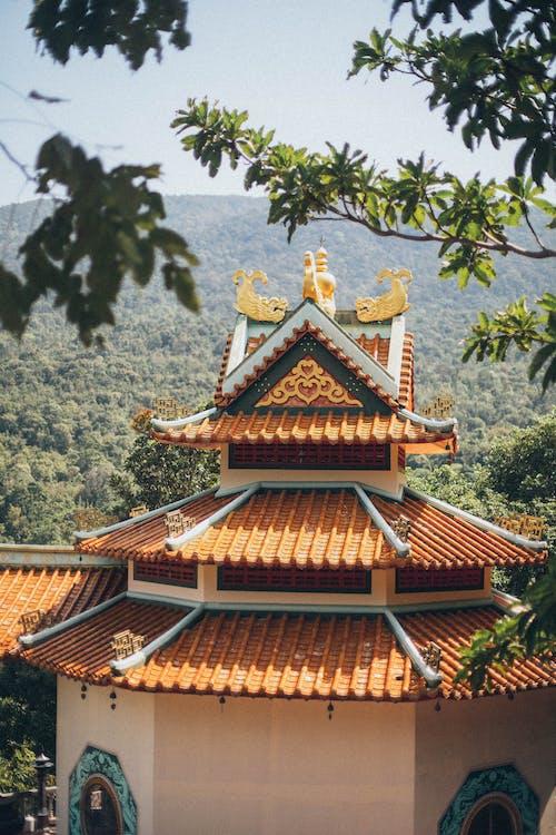 arkitektur, Asiatisk arkitektur, bygning