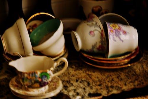 Imagine de stoc gratuită din cești de ceai