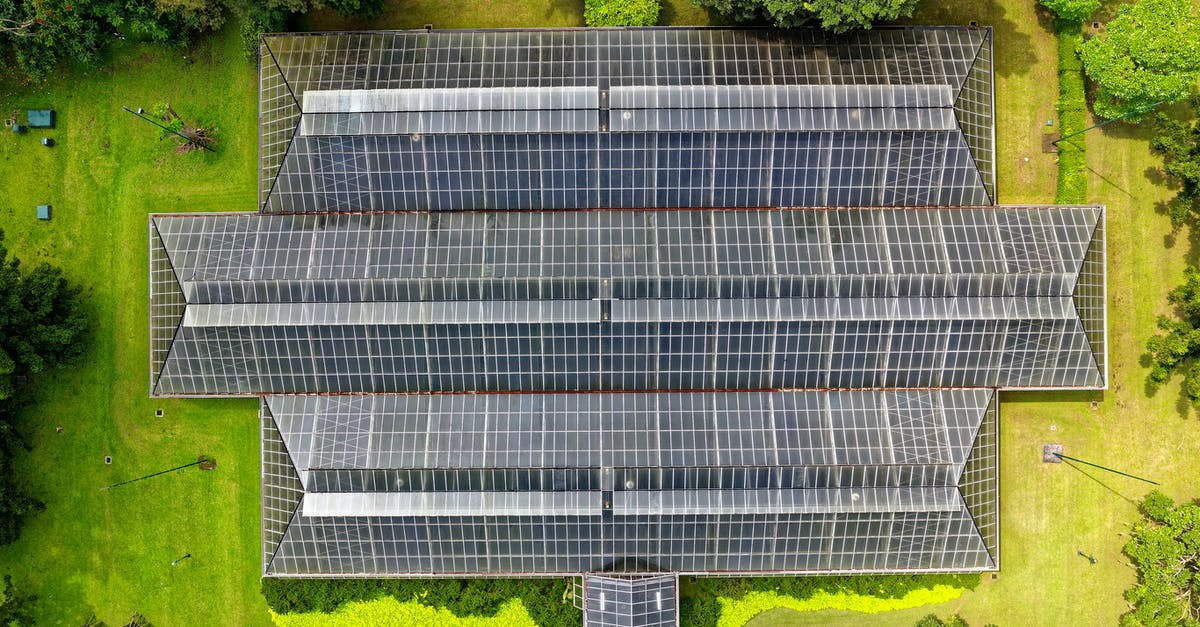 Bird S Eye View Of Solar Panel Roof 183 Free Stock Photo