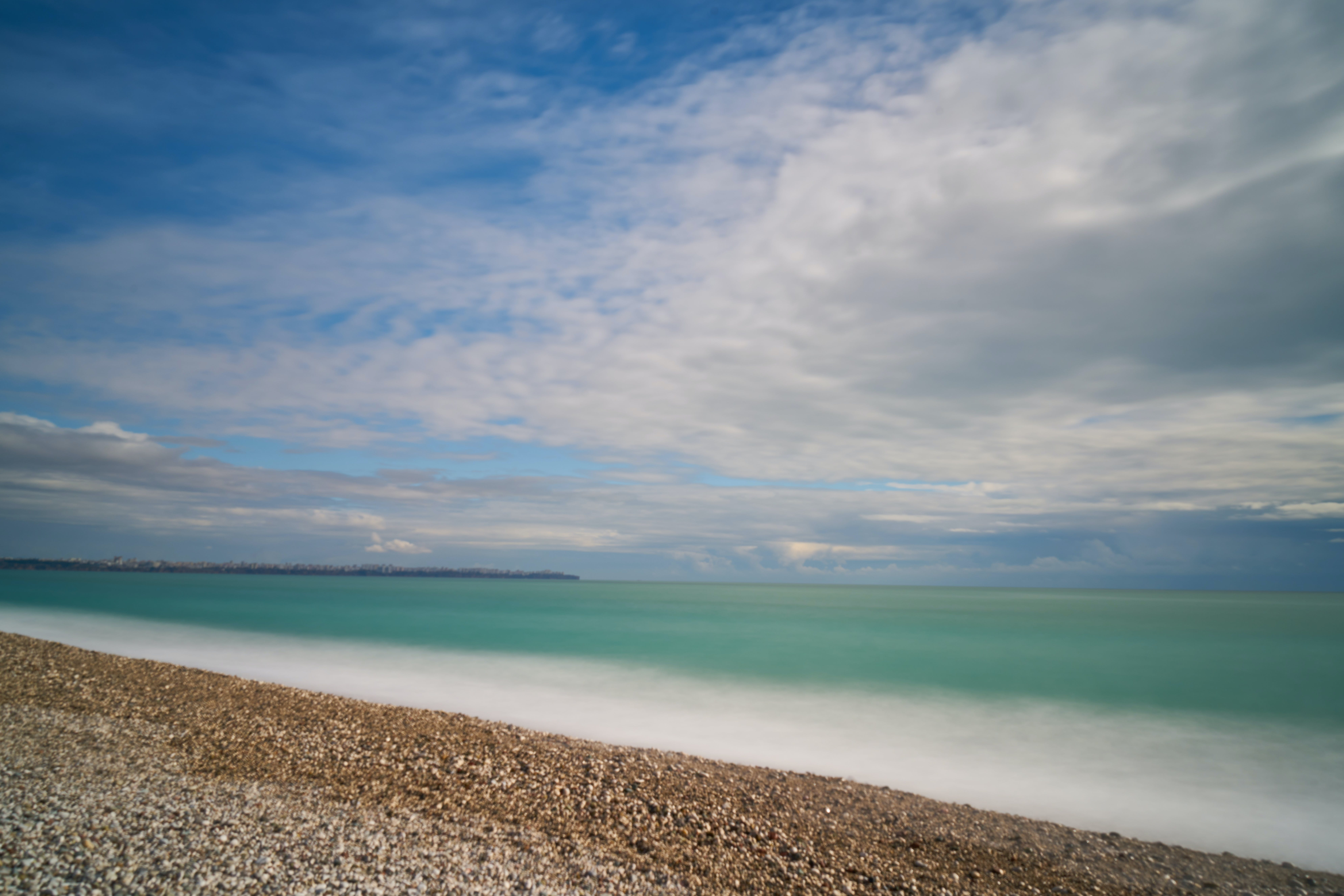 Free stock photo of beach, clouds, holiday, landscape