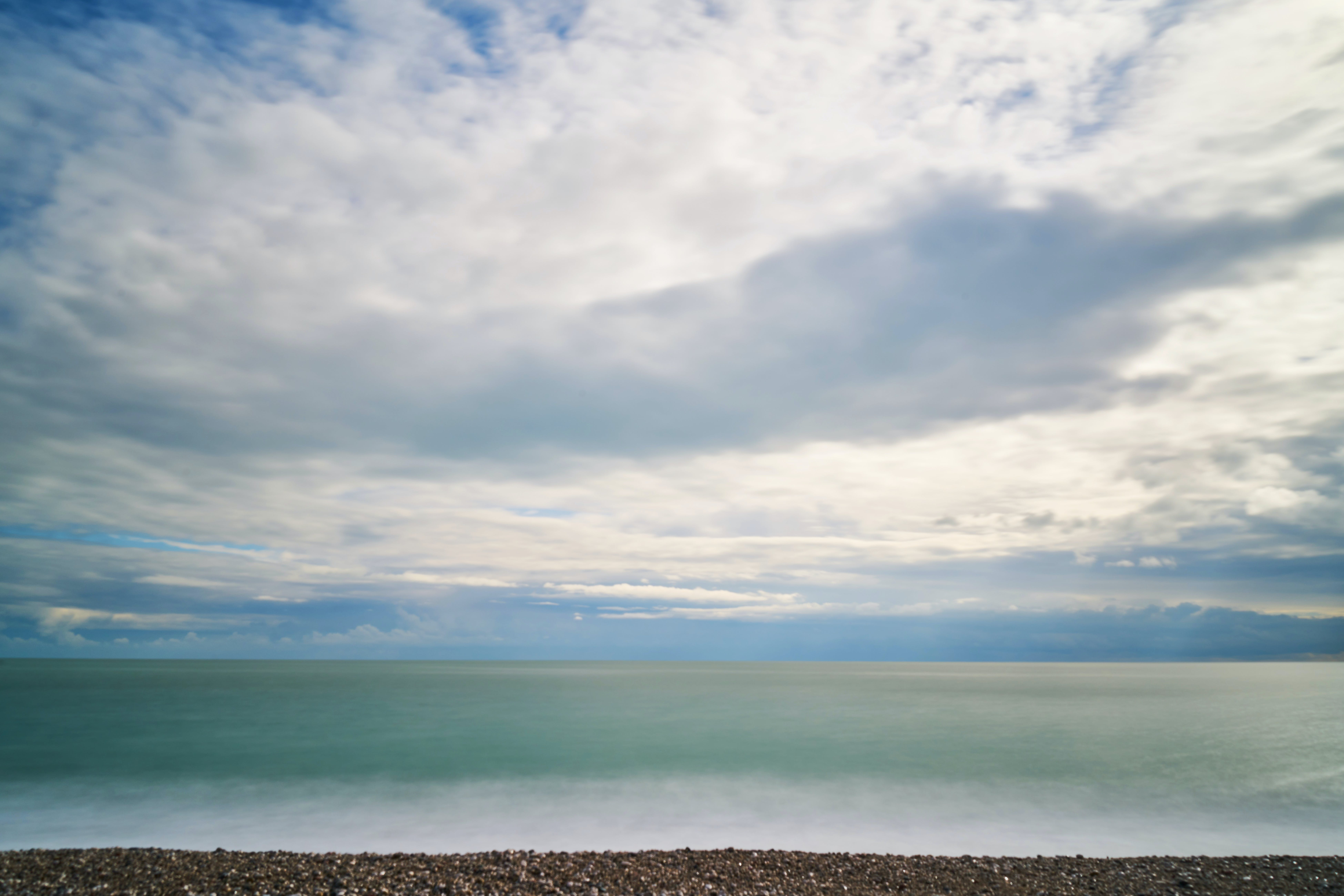 Free stock photo of beach, beautiful, clouds, landscape