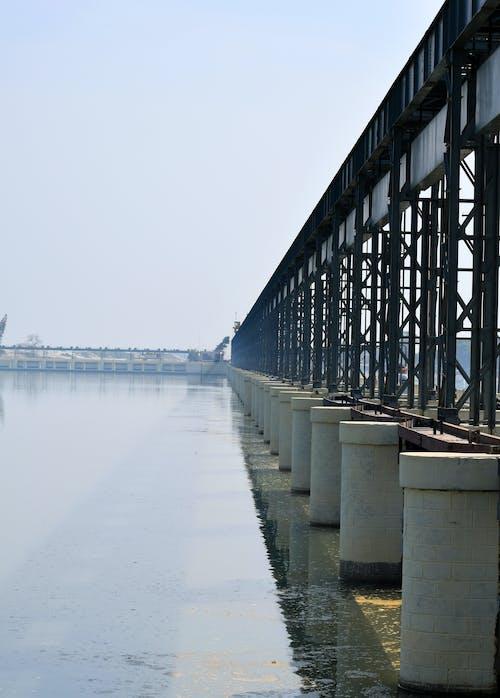 Free stock photo of barrage, bridge, koshi