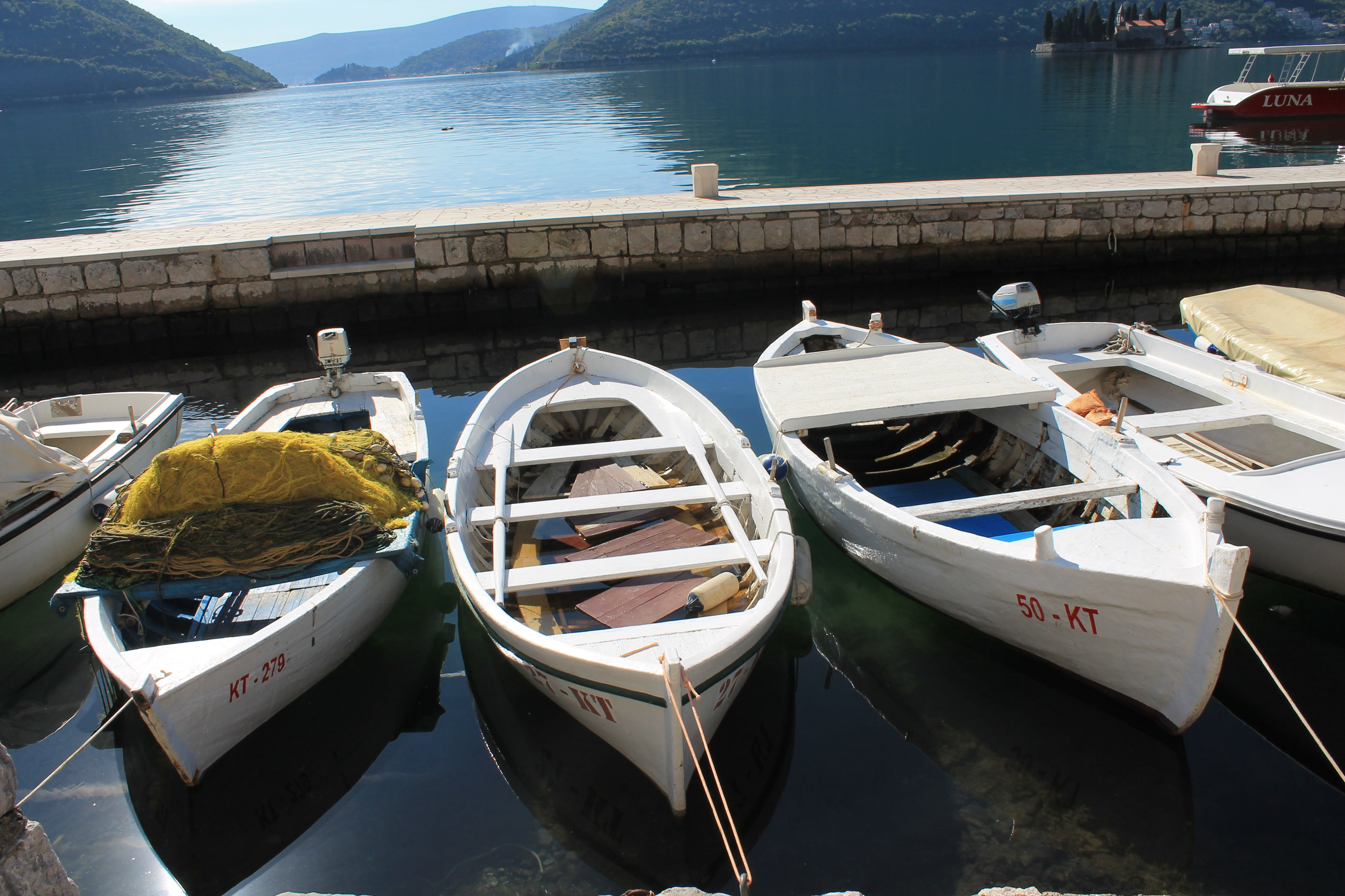 Free stock photo of boats, nature, sea, sky