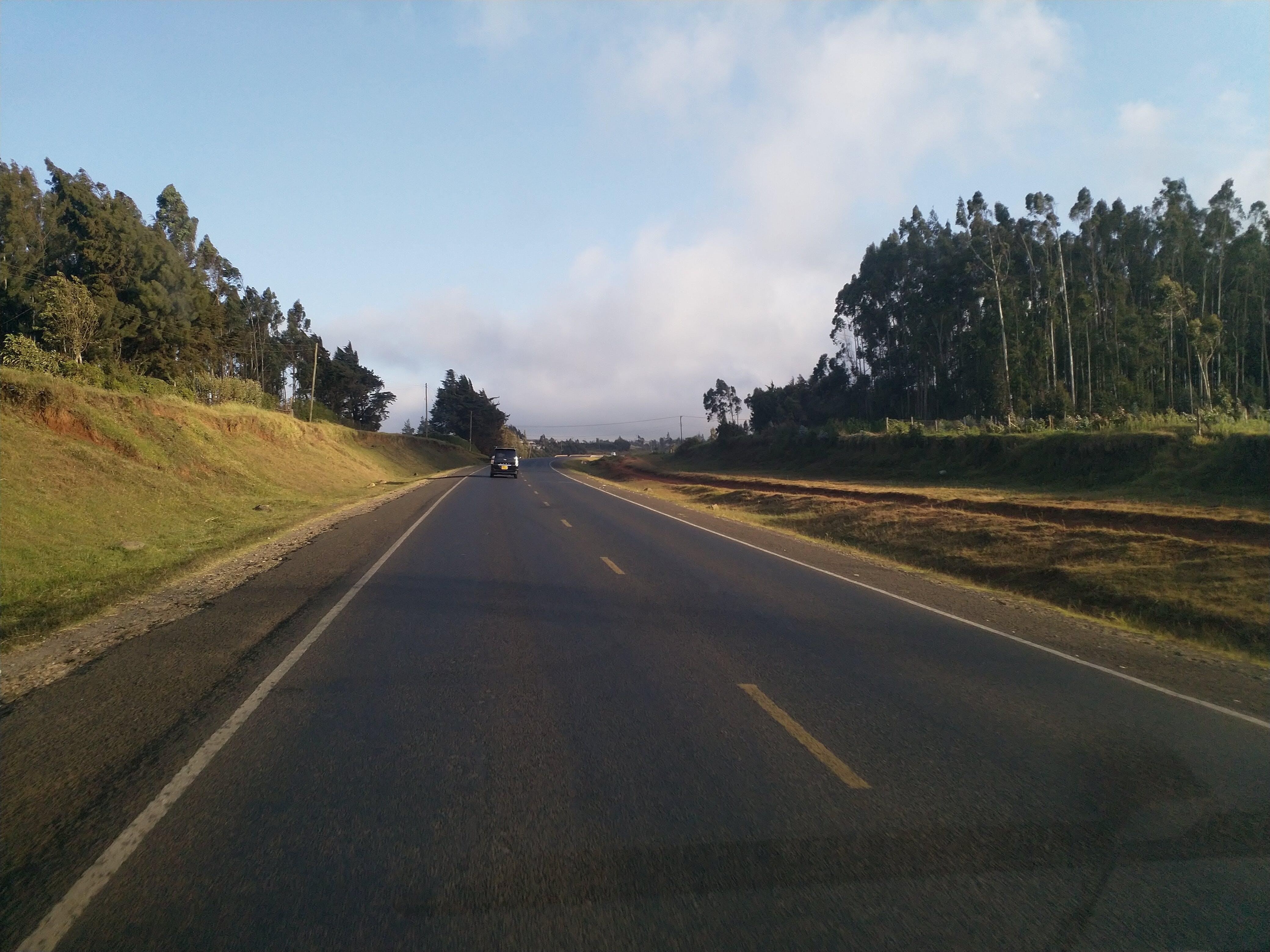 Free stock photo of african road, Kenya, Limuru, Morning drive