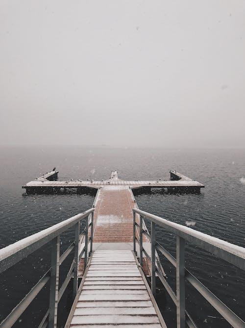 Immagine gratuita di acqua, banchina, litorale, mare