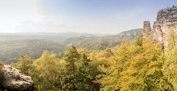 landscape, mountains, summer