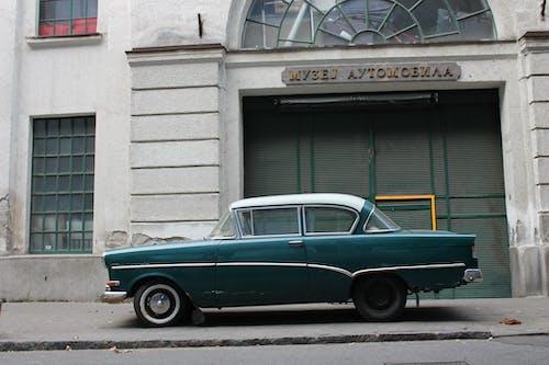 Free stock photo of car, city, oldtimer, urban