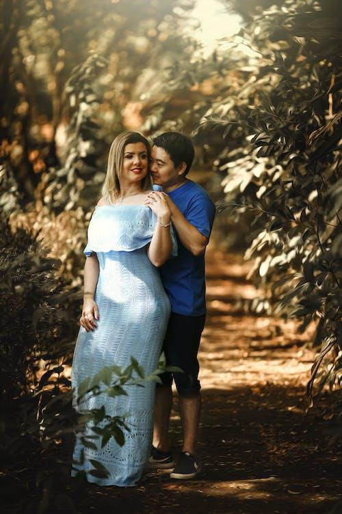 cặp vợ chồng, chụp ảnh, công viên