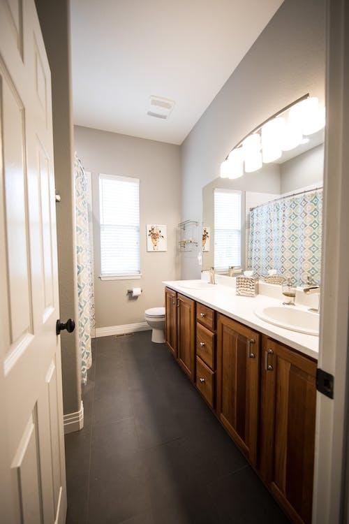 Free stock photo of bathroom, cabinet, interior