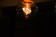 light, dark, light bulb