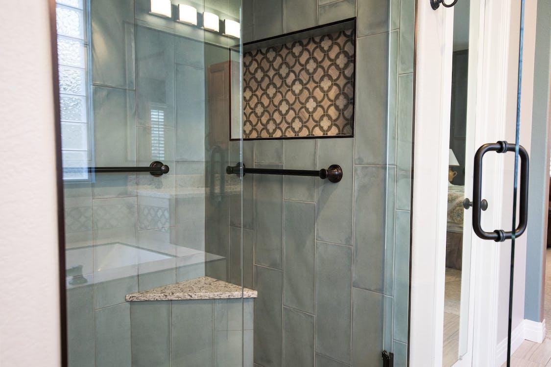 Free stock photo of bathroom, glass, glass door