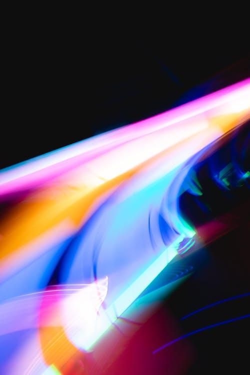 ánh sáng, bức tranh sáng sủa, bức tranh trừu tượng