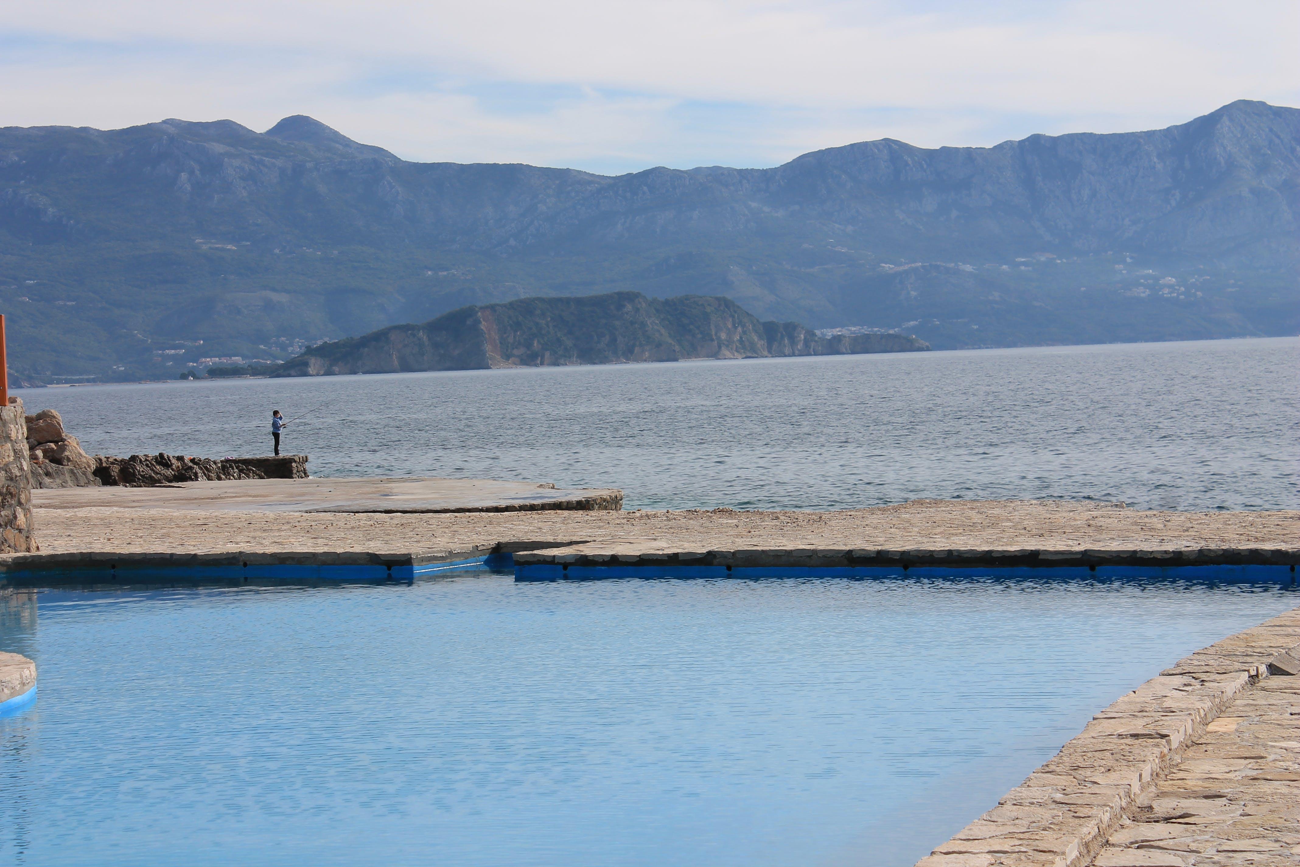 Free stock photo of blue, fishing, mountains, nature