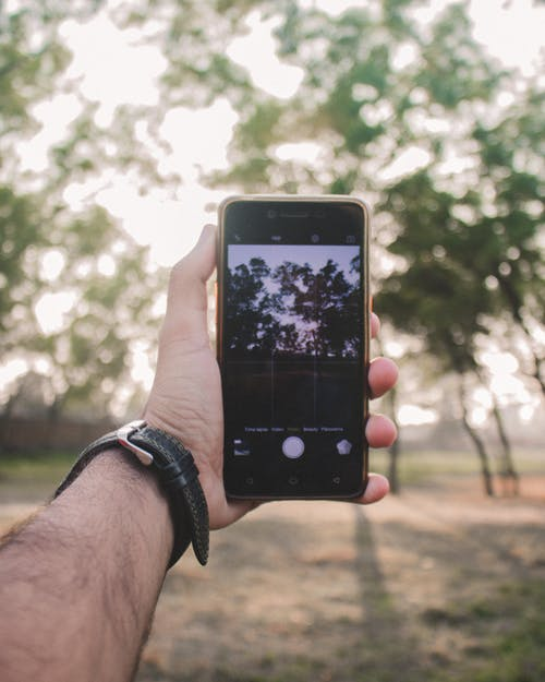 Free stock photo of camera, mobile