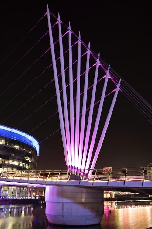 Free stock photo of media city footbridge