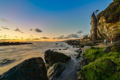 Ảnh lưu trữ miễn phí về bầu trời, biển, bờ biển, đá