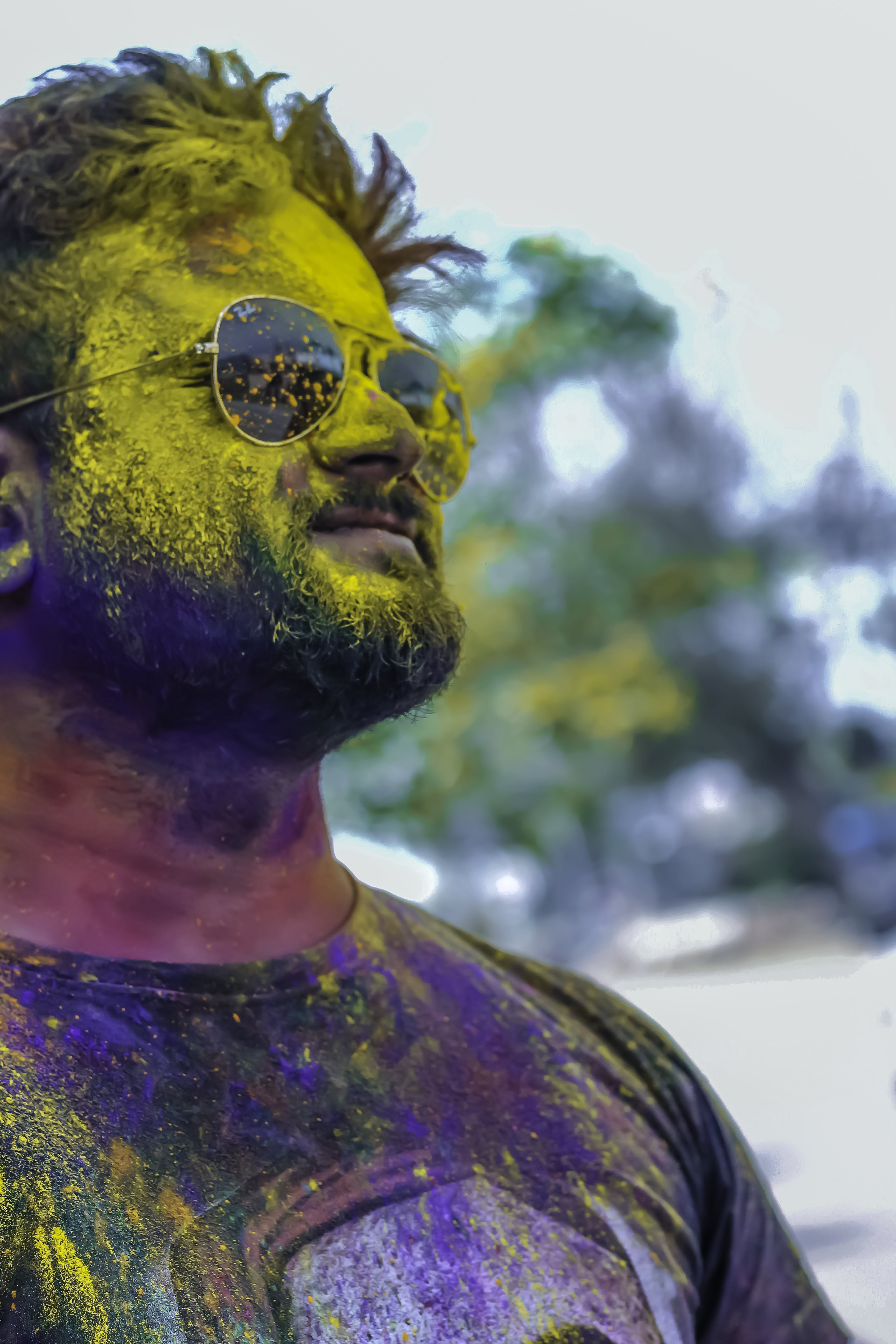 Free stock photo of aviator, colours, festival, festival of india