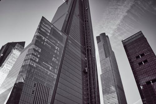 Kostenloses Stock Foto zu bau, hudson yards, nyc, wolkenkratzer