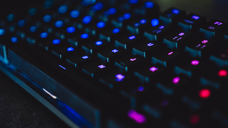 Free stock photo of futuristic, gamer, keyboard, technician