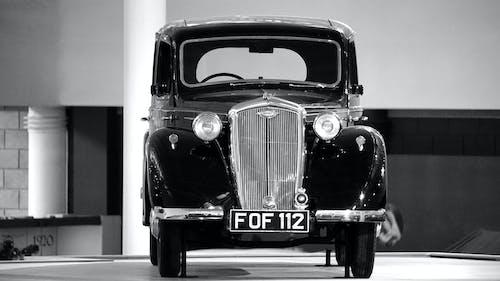 Photos gratuites de automobile, classique, noir et blanc, rétro
