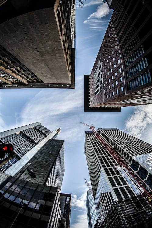 các tòa nhà, cao nhất, góc chụp thấp