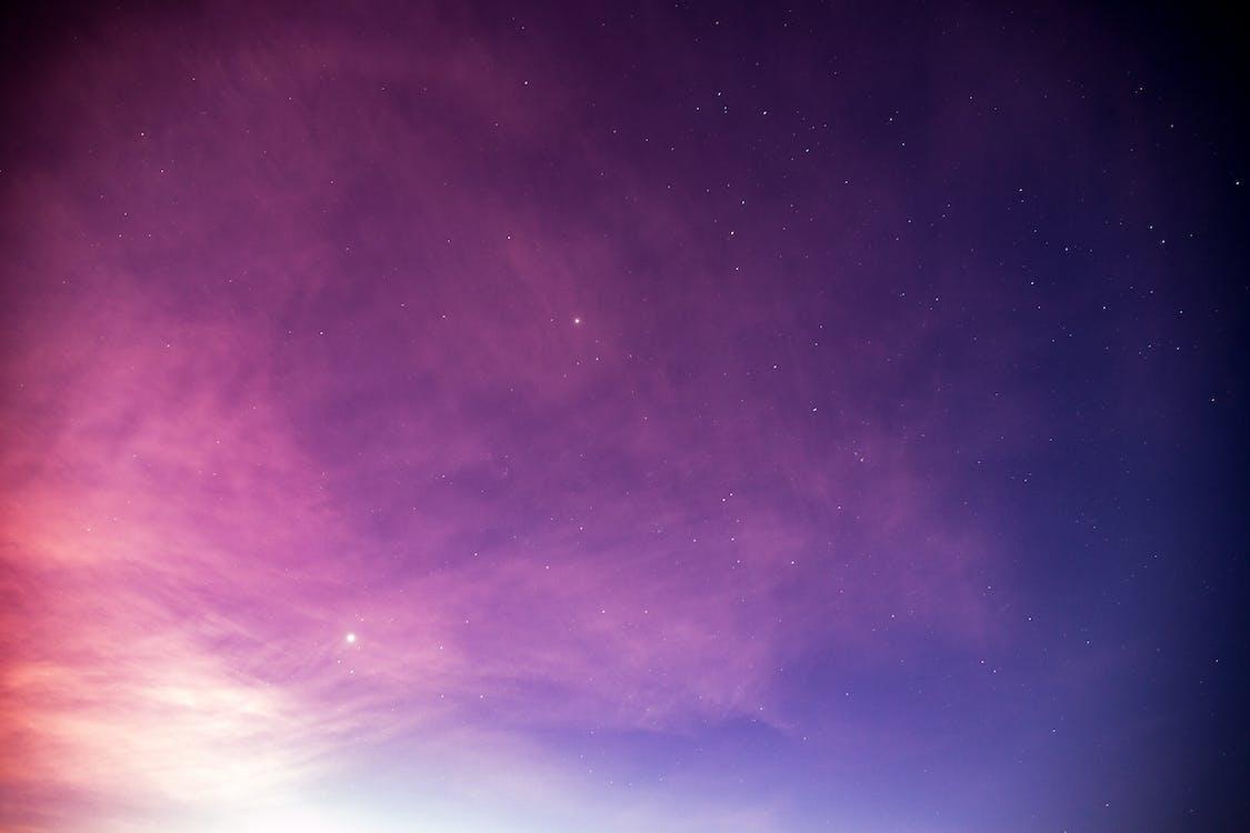 묵상, 밤, 별