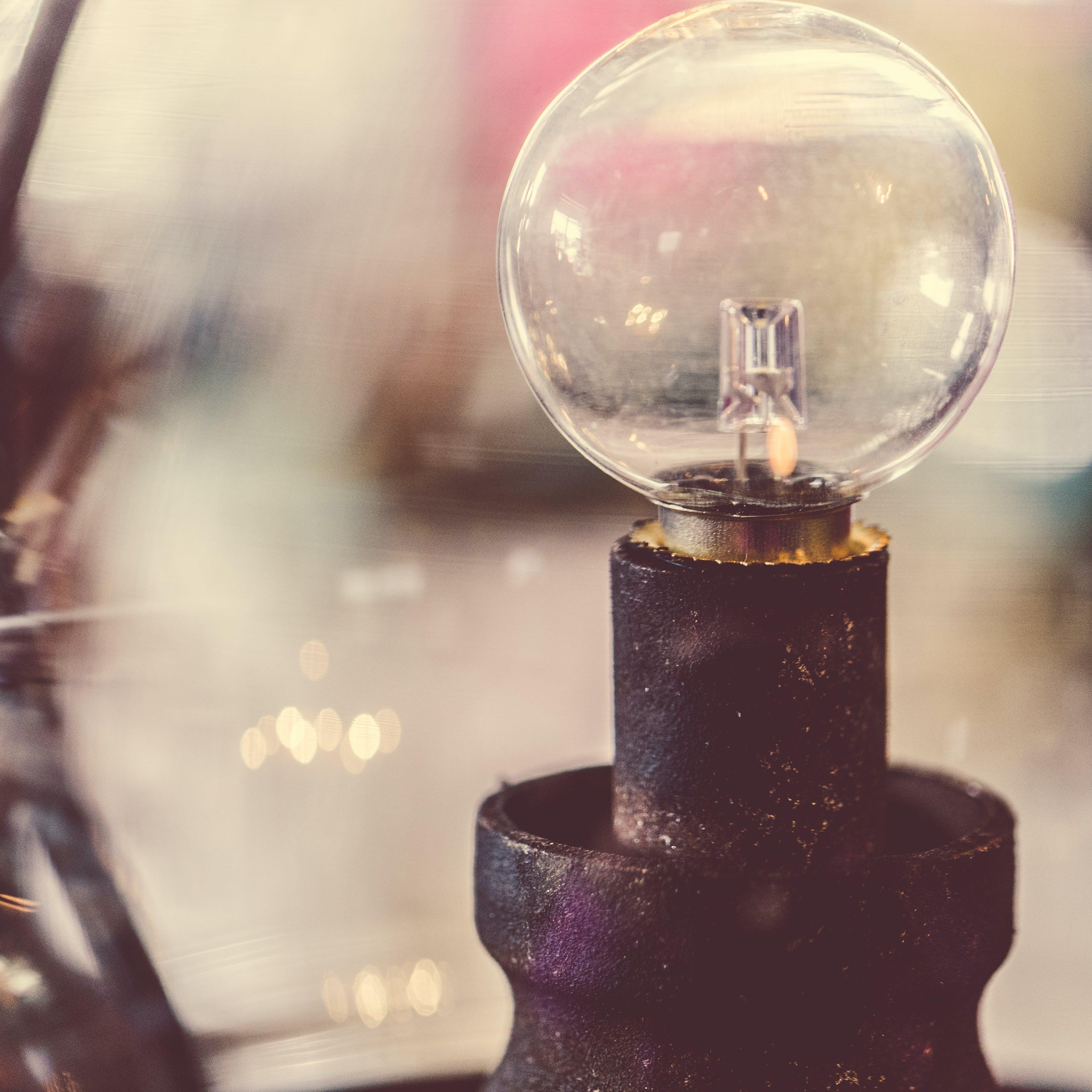Kostenloses Stock Foto zu die glühbirne, edison, glas, licht
