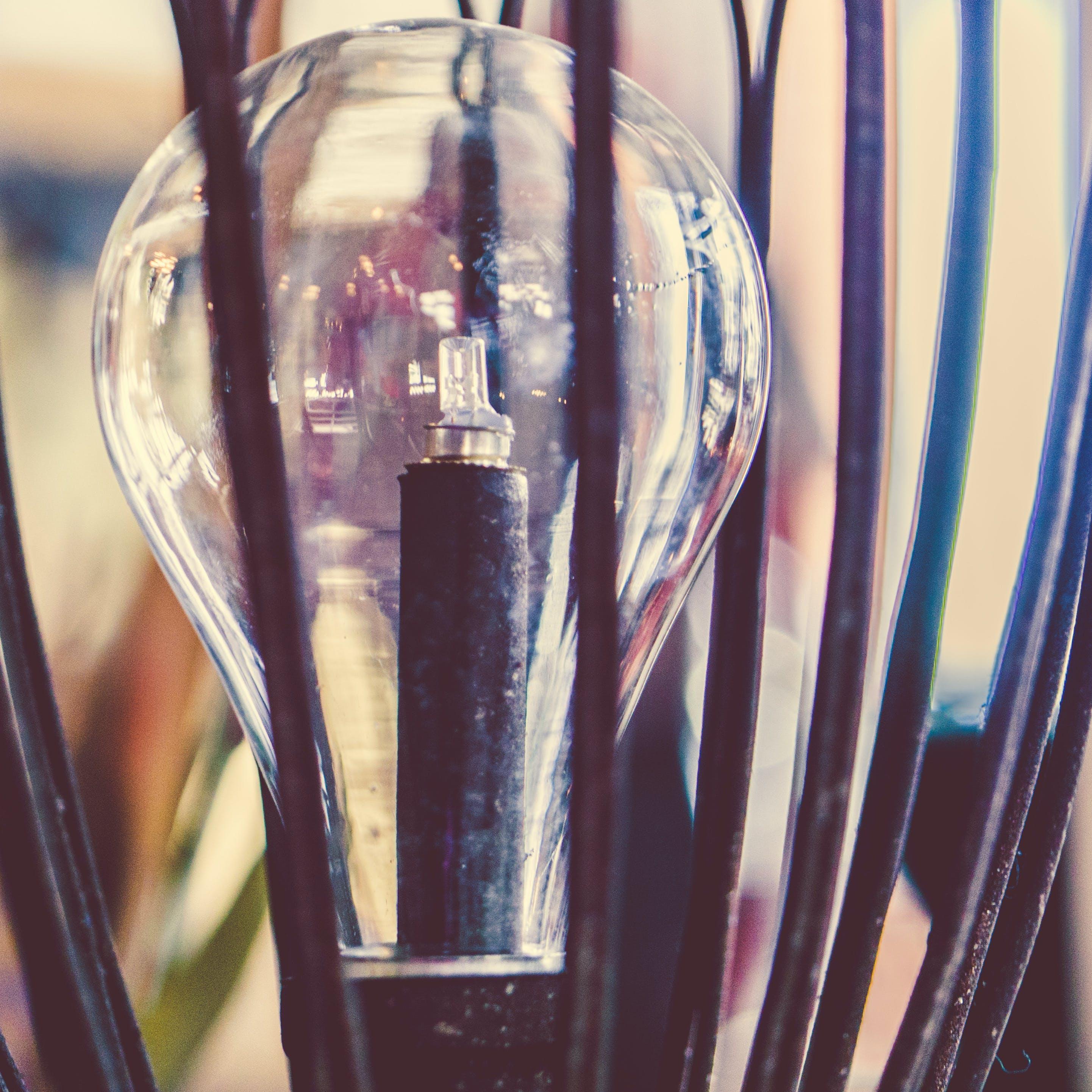 Kostenloses Stock Foto zu die glühbirne, glas, glaskolben, glühbirne