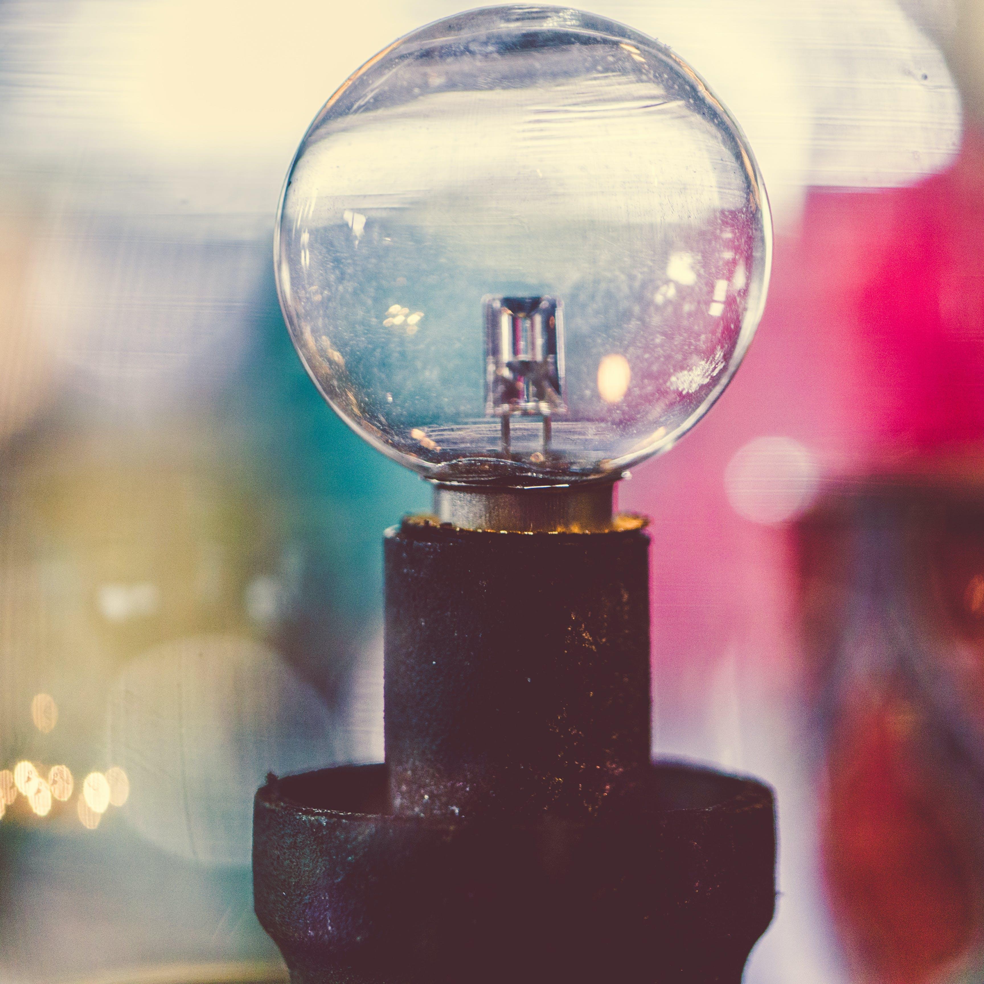 Kostenloses Stock Foto zu die glühbirne, glas, glühbirne, licht
