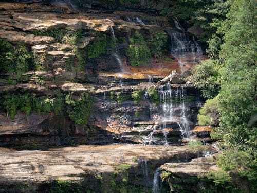 Ảnh lưu trữ miễn phí về núi xanh, thác nước