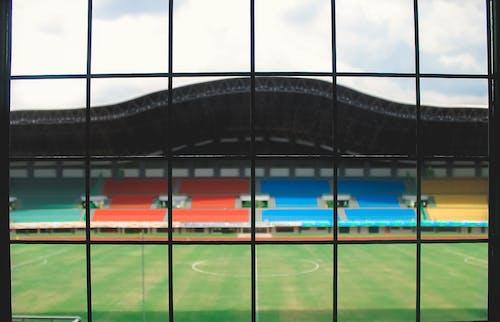 Free stock photo of grid, landsape, stadium
