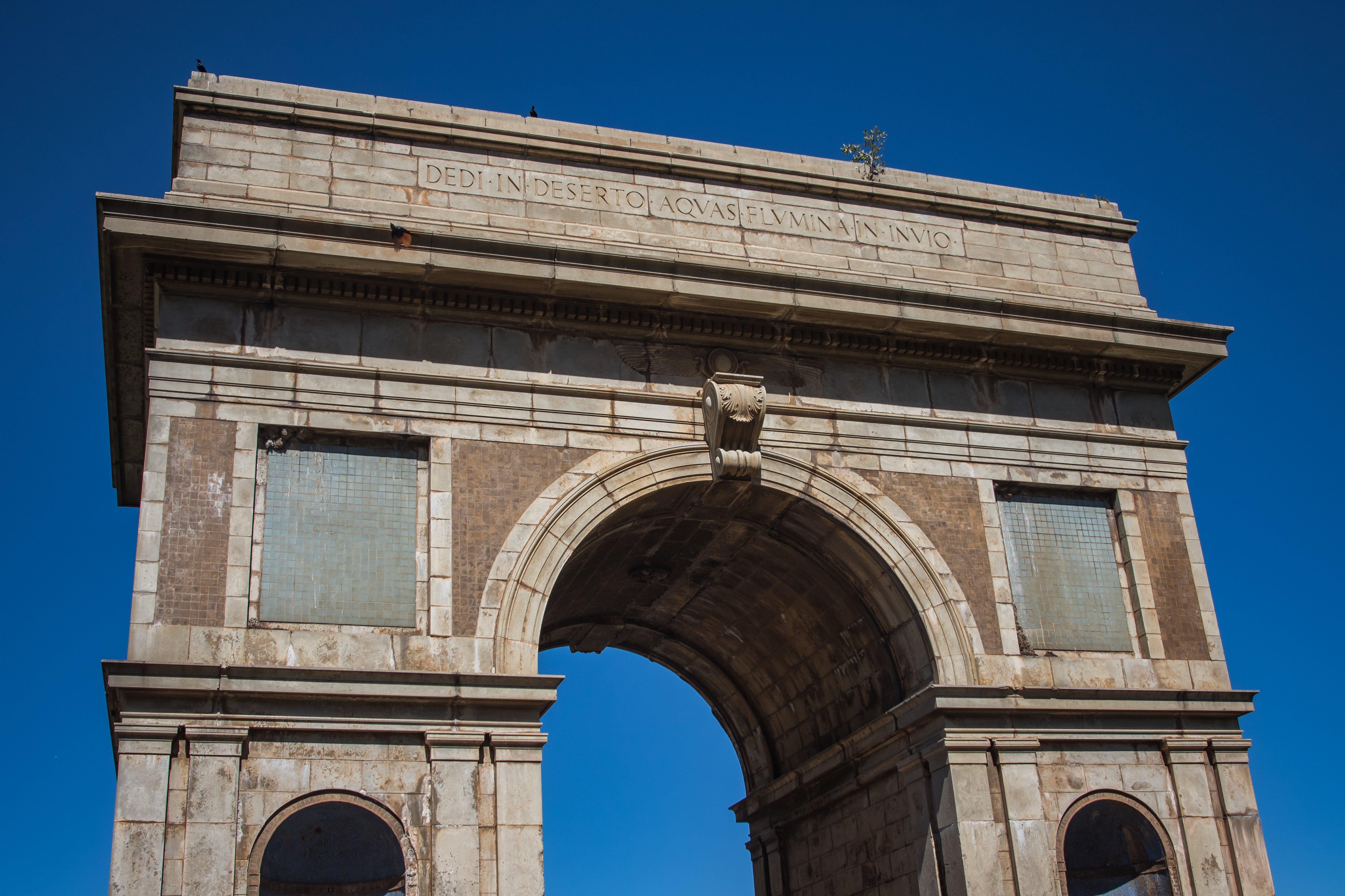 Free stock photo of arch, architecture, bridge, building