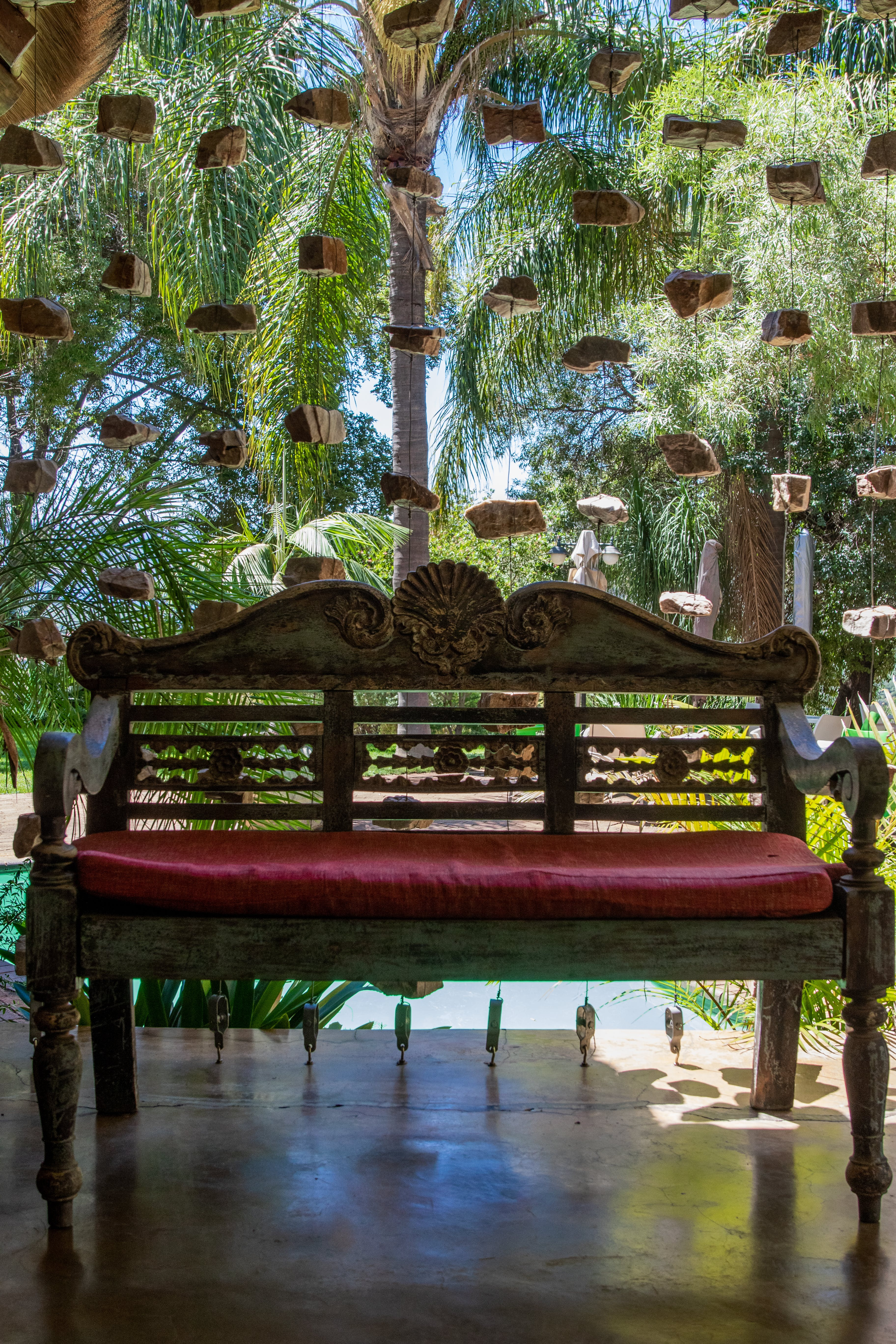 Free stock photo of bali, bench, carved wood, chair